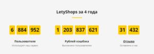 letyshops.com - Летишопс сервис с кешбеком